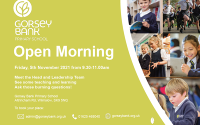 Warmly welcoming you to our open morning