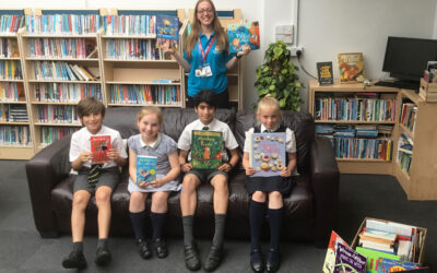 Pupils donate over 100 books to Ronald McDonald House